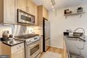 Gourmet Kitchen w/ Gas Stove - 809 6TH ST NW #61, WASHINGTON