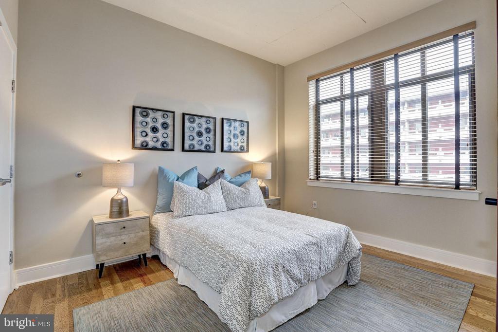 2nd Bedroom w/ Oversized Windows - 809 6TH ST NW #61, WASHINGTON