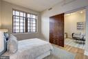 2nd Bedroom w/ Oversized Windows & Barn Door - 809 6TH ST NW #61, WASHINGTON