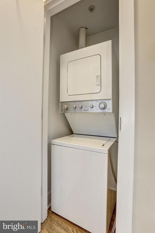In-Unit Washer & Dryer - 809 6TH ST NW #61, WASHINGTON