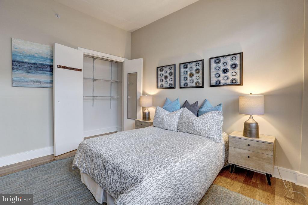 2nd Bedroom w/ Custom Closets - 809 6TH ST NW #61, WASHINGTON
