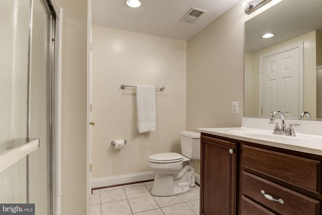 Lower Level Full Bath - 47479 SISLER CT, STERLING