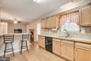 Open concept kitchen & family room - 11016 LEAVELLS RD, FREDERICKSBURG