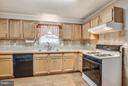 Beautiful tile countertops & backsplash - 11016 LEAVELLS RD, FREDERICKSBURG