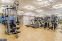 Fitness Center - 700 NEW HAMPSHIRE AVE NW #107, WASHINGTON