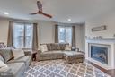 Living Room features  Gas Fireplace - 8957 DAHLGREN RIDGE RD, MANASSAS