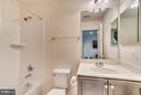 Lower Level Full Bath - 8957 DAHLGREN RIDGE RD, MANASSAS