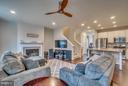 Integrated Floor Plan - 8957 DAHLGREN RIDGE RD, MANASSAS
