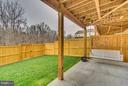 Tranquil Yard Space **Swing does not convey** - 8957 DAHLGREN RIDGE RD, MANASSAS