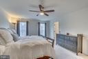 Light-filled Owner's Bedroom - 8957 DAHLGREN RIDGE RD, MANASSAS