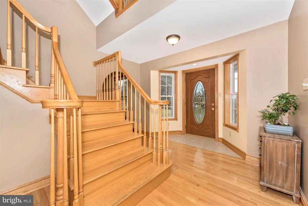 Step inside to hardwd floors & carved staircases. - 10538 CHURCH HILL RD, MYERSVILLE