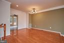 Dining Room with Hardwood - 9738 CORBETT CIR, MANASSAS PARK