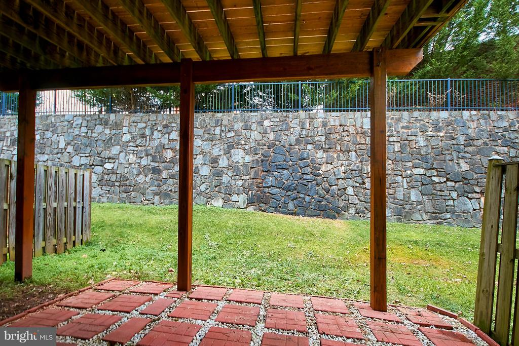 Lower Level Patio - 9738 CORBETT CIR, MANASSAS PARK