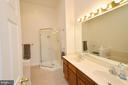 Master Bathroom w/ Updated Shower Frame - 44114 GALA CIR, ASHBURN