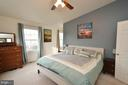 Master Bedroom with Vaulted Ceiling - 44114 GALA CIR, ASHBURN