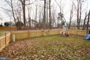 Huge Backyard - 44114 GALA CIR, ASHBURN