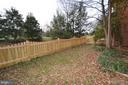Fenced Yard - 44114 GALA CIR, ASHBURN