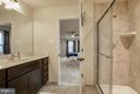 Master with split dual vanities - 7131 MASTERS RD, NEW MARKET
