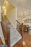 Hardwood entry and rails - 7131 MASTERS RD, NEW MARKET