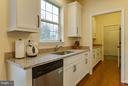 Granite, stainless steel appliances, custom pulls - 7131 MASTERS RD, NEW MARKET