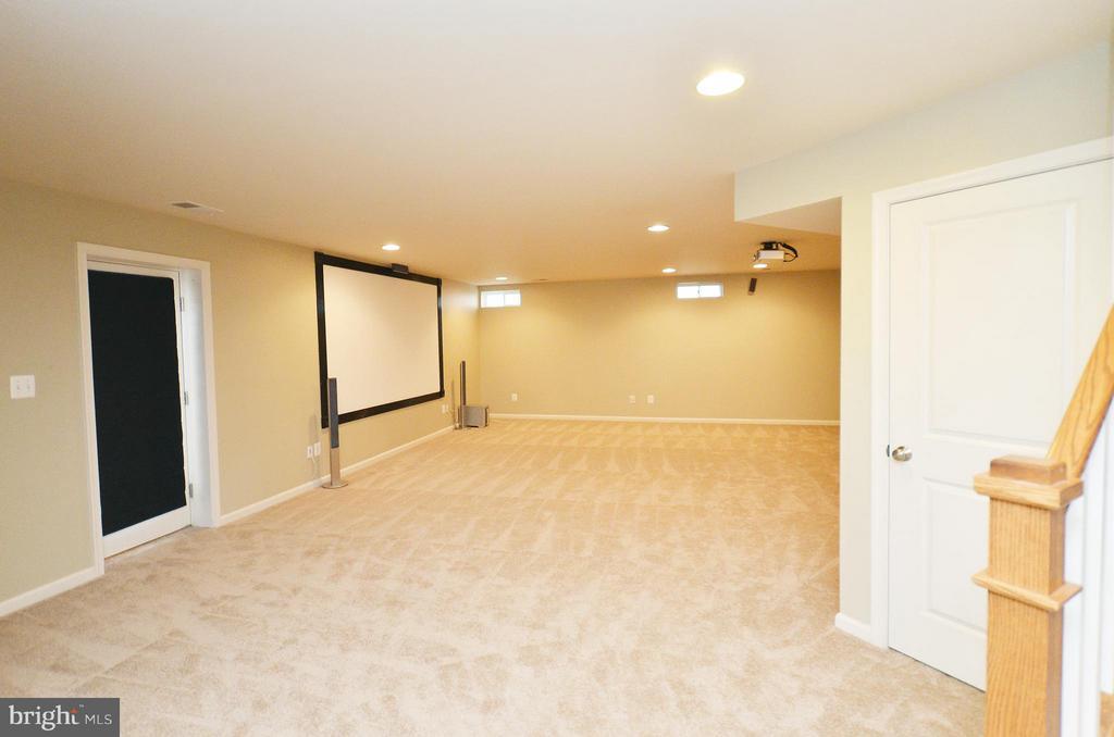 Rec Room - 23386 HIGBEE LN, BRAMBLETON