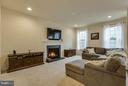 Additional recessed lights. TV mount will convey - 7131 MASTERS RD, NEW MARKET