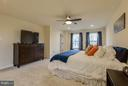 Plenty of space for King bed and larger furniture - 7131 MASTERS RD, NEW MARKET