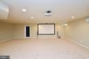Spacious Rec Room - 23386 HIGBEE LN, BRAMBLETON