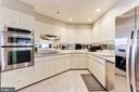 Kitchen with Updated Stainless Steel Appliances - 1401 N OAK ST #603, ARLINGTON