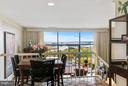 Open Dining Space with Views - 1401 N OAK ST #603, ARLINGTON