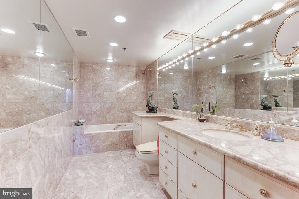 Master En Suite Bathroom - 1401 N OAK ST #603, ARLINGTON