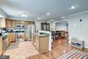 Open Kitchen to Dining Room & Family Room - 1814 N GEORGE MASON DR, ARLINGTON