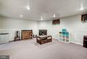 Rec Room with 2nd Fireplace - 1814 N GEORGE MASON DR, ARLINGTON