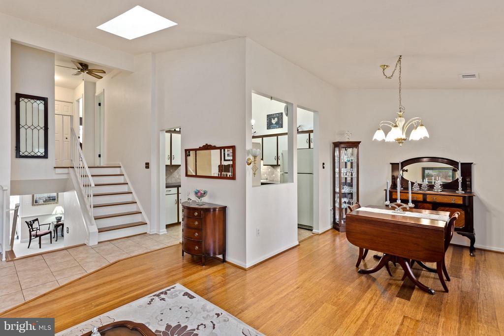 View from Living Room - 10001 WOOD SORRELS LN, BURKE