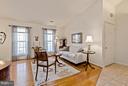 Living Room with beautiful Bamboo floors - 10001 WOOD SORRELS LN, BURKE