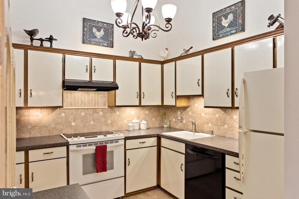 Eat-in Kitchen is Well-Equipped - 10001 WOOD SORRELS LN, BURKE