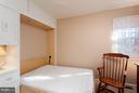 Bedroom 2 with Double Murphy Bed - 10001 WOOD SORRELS LN, BURKE