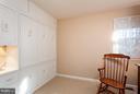 Bedroom 2 with Custom Builtins - 10001 WOOD SORRELS LN, BURKE
