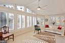 Sunroom Loaded with Windows - 10001 WOOD SORRELS LN, BURKE