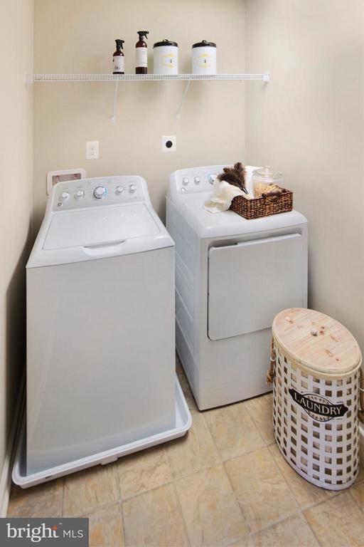 Laundry Room in Model - 3 BRIGHTSTAR DR, MANASSAS
