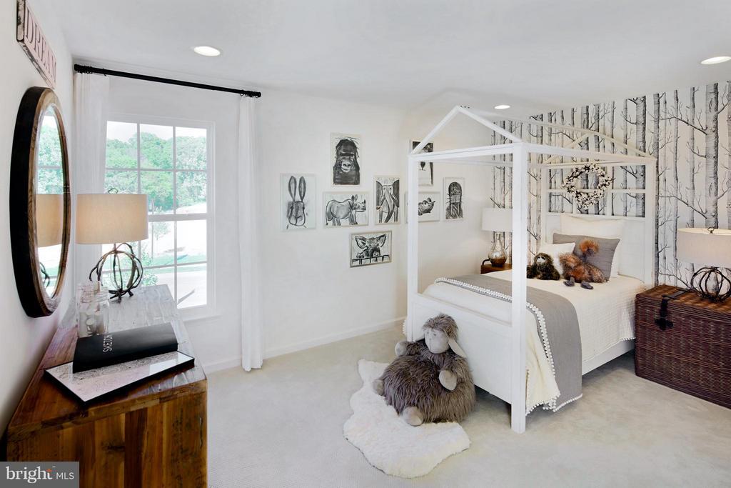 Bedroom #4 in Model - 3 BRIGHTSTAR DR, MANASSAS