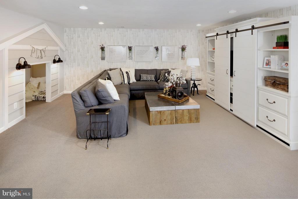 Recreation Room in Model - 3 BRIGHTSTAR DR, MANASSAS