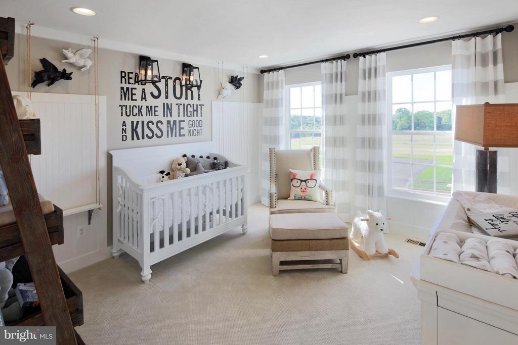 Bedroom #2 in Model - 3 BRIGHTSTAR DR, MANASSAS