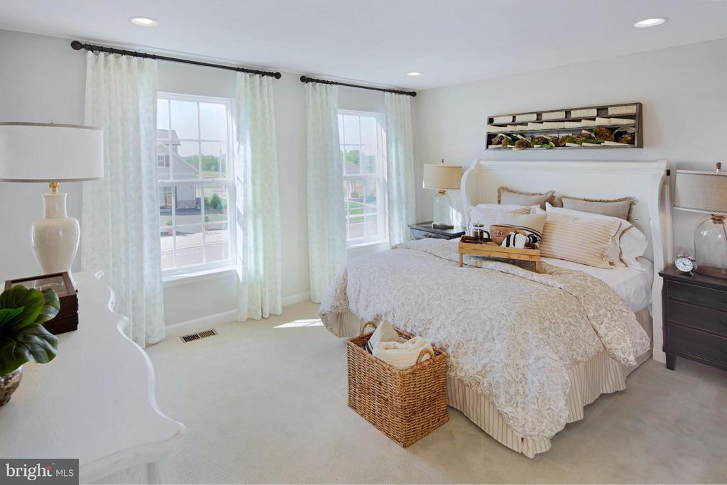 Bedroom #3 in Model - 3 BRIGHTSTAR DR, MANASSAS