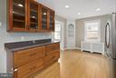 Updated Kitchen w/Glass Door Cabinets - 309 TIMBERWOOD AVE, SILVER SPRING