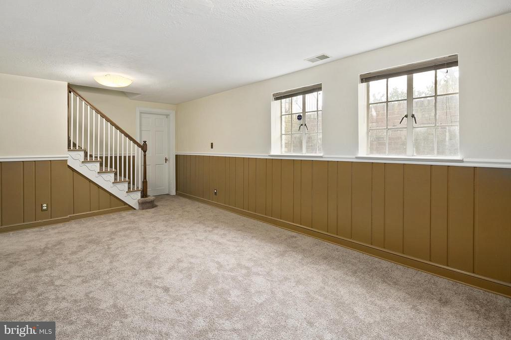 Finished Basement w/Brand New Carpet - 309 TIMBERWOOD AVE, SILVER SPRING