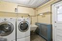 Laundry Room in Basement leading to Backyard - 309 TIMBERWOOD AVE, SILVER SPRING