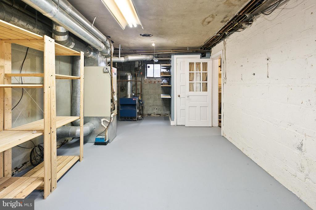 Spacious Storage Area in Basement - 309 TIMBERWOOD AVE, SILVER SPRING