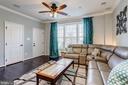 Living Room receives an abundance of sunlight! - 7530 BRUNSON CIR, GAINESVILLE