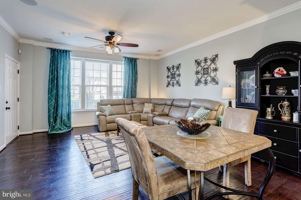 Dining and Living Areas - 7530 BRUNSON CIR, GAINESVILLE